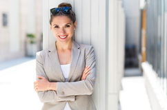 Attractive young businesswoman Royalty Free Stock Photo