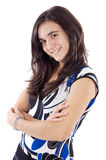 Attractive young casual girl Royalty Free Stock Photo