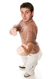 Attractive young casual guy Royalty Free Stock Images