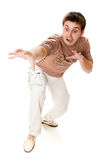 Attractive young casual guy Stock Photography