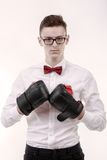 Attractive young caucasian businessman Royalty Free Stock Photo