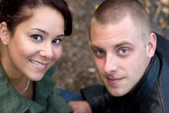 Attractive Young Couple royalty free stock images
