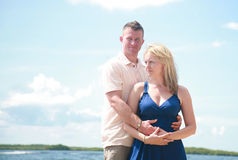 Attractive Young Couple stock images