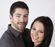 Attractive young couple. stock photo