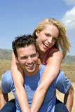 Attractive young couple Stock Photos