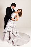 Attractive Young Couple Dancing Royalty Free Stock Image