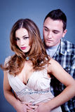 Attractive young couple glamour styling Stock Photo