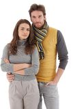 Attractive young couple hugging Stock Photography
