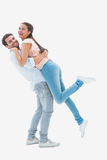 Attractive young couple hugging each other Stock Image