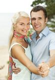 Attractive young couple outdoors Stock Photo