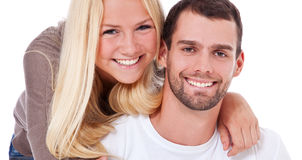 Attractive young couple Stock Image