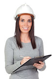 Attractive young engineer Royalty Free Stock Image