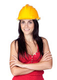 Attractive young engineer Royalty Free Stock Images