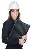Attractive young engineer Stock Photos