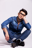 Attractive young fashion man Royalty Free Stock Images