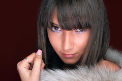 Attractive young fashion model Stock Image