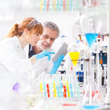 Health care professionals in lab. Royalty Free Stock Photography