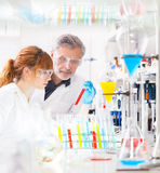 Health care professionals in lab. Stock Image