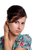 Attractive young girl Royalty Free Stock Photos
