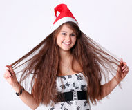 Attractive young girl Royalty Free Stock Images