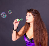 Attractive young girl Stock Photography