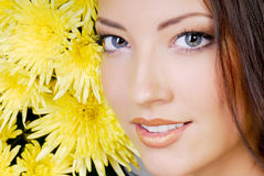 Attractive young girl Stock Photo