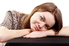 Attractive young girl posing Royalty Free Stock Photos