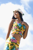 Attractive Young Hawaiian Woman Stock Images