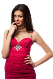Attractive young hispanic lady Royalty Free Stock Image