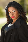 An attractive young hispanic woman Royalty Free Stock Photo