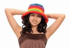 Attractive young lady Royalty Free Stock Photo