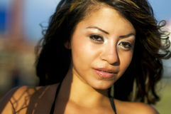 Attractive young latino woman Royalty Free Stock Photography