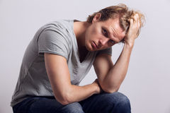 Attractive young male Stock Images