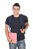 Attractive young male student Royalty Free Stock Image