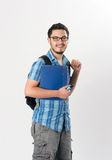 Attractive young male student Stock Image