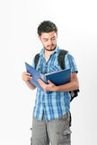 Attractive young male student Stock Photography
