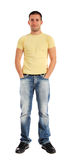 Attractive young man Stock Images