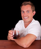 Attractive young man Stock Image