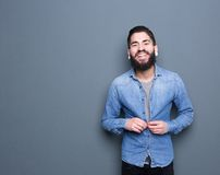 Attractive young man with beard Stock Photography