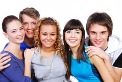 Attractive young people Royalty Free Stock Images