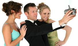 Attractive Young People in Formals Stock Images
