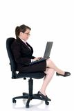 Attractive young secretary Stock Photography