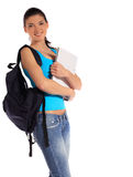 Attractive young student Stock Photos