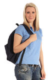 Attractive young student Royalty Free Stock Photos