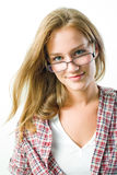 Attractive young student. Royalty Free Stock Image