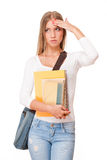 Attractive young student. Stock Images