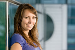 Attractive young teenage girl Royalty Free Stock Photo