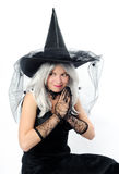 attractive young witch Royalty Free Stock Photos