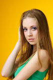 Attractive young woman Stock Image