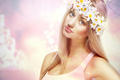 Attractive young woman Royalty Free Stock Photos